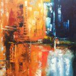 Anachronisme Huile sur toile 100 x 81 cm