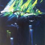 Arrivée Victorieuse Huile sur toile 92 x 73 cm