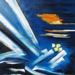 Courageous Huile sur toile 73 x 60 cm
