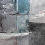 Dans la Lagune Acrylique sur toile 92 x 73 cm