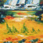 En apparence Huile sur toile 100 x 81 cm