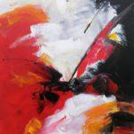 Extravagances Acrylique sur toile 27 x 35 cm