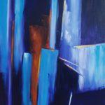 Fascinante Aventure I Huile sur toile 116 x 89 cm