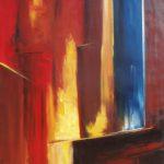 Fascinante Aventure II huile sur toile 116 x 89 cm
