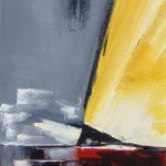 Gite I Huile sur toile 25 x 75 cm
