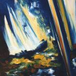 Liberté Absolue Huile sur toile 82 x 73 cm