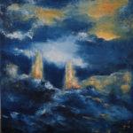 Régate de Haute Mer 116 x 89 cm