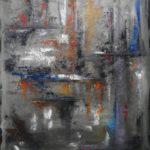 Reflets Huile sur toile 73 x 92 cm
