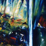 Sans Limites huile sur toile 92 x 73 cm
